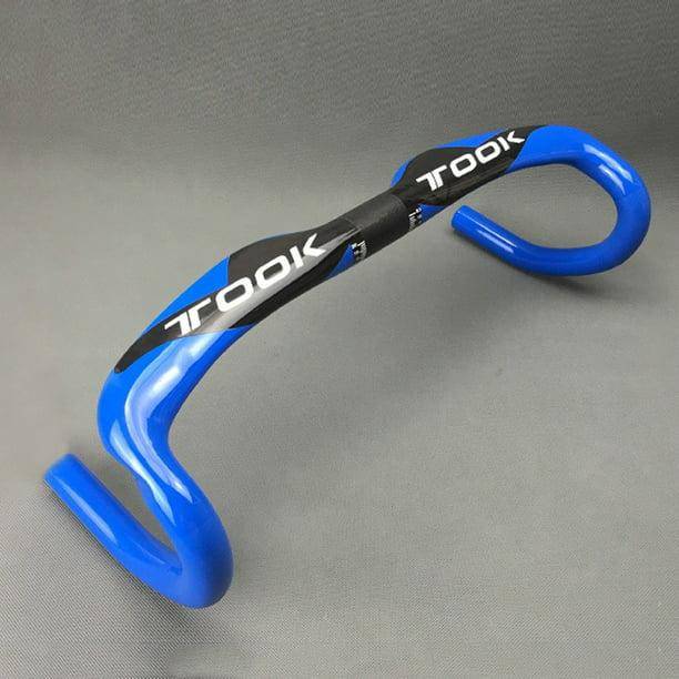 Carbon Fiber Cyclocross Road Bike Racing Drop Bar Handlebar 31.8*400//420//440mm