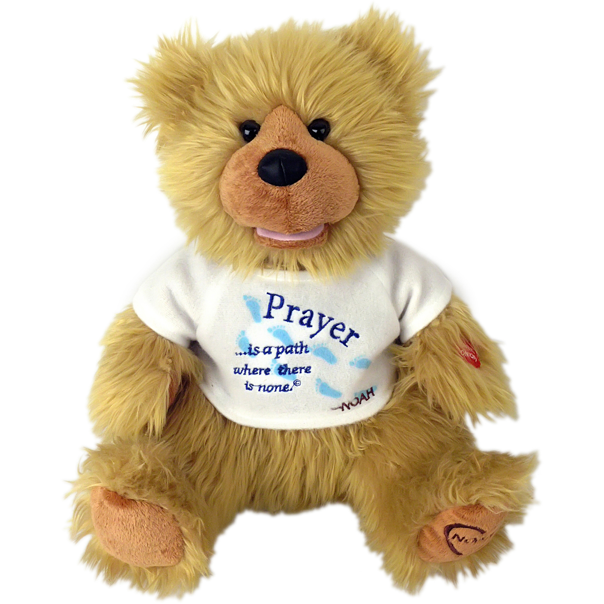 "Chantilly Lane 12"" Noah Bear Prayer"