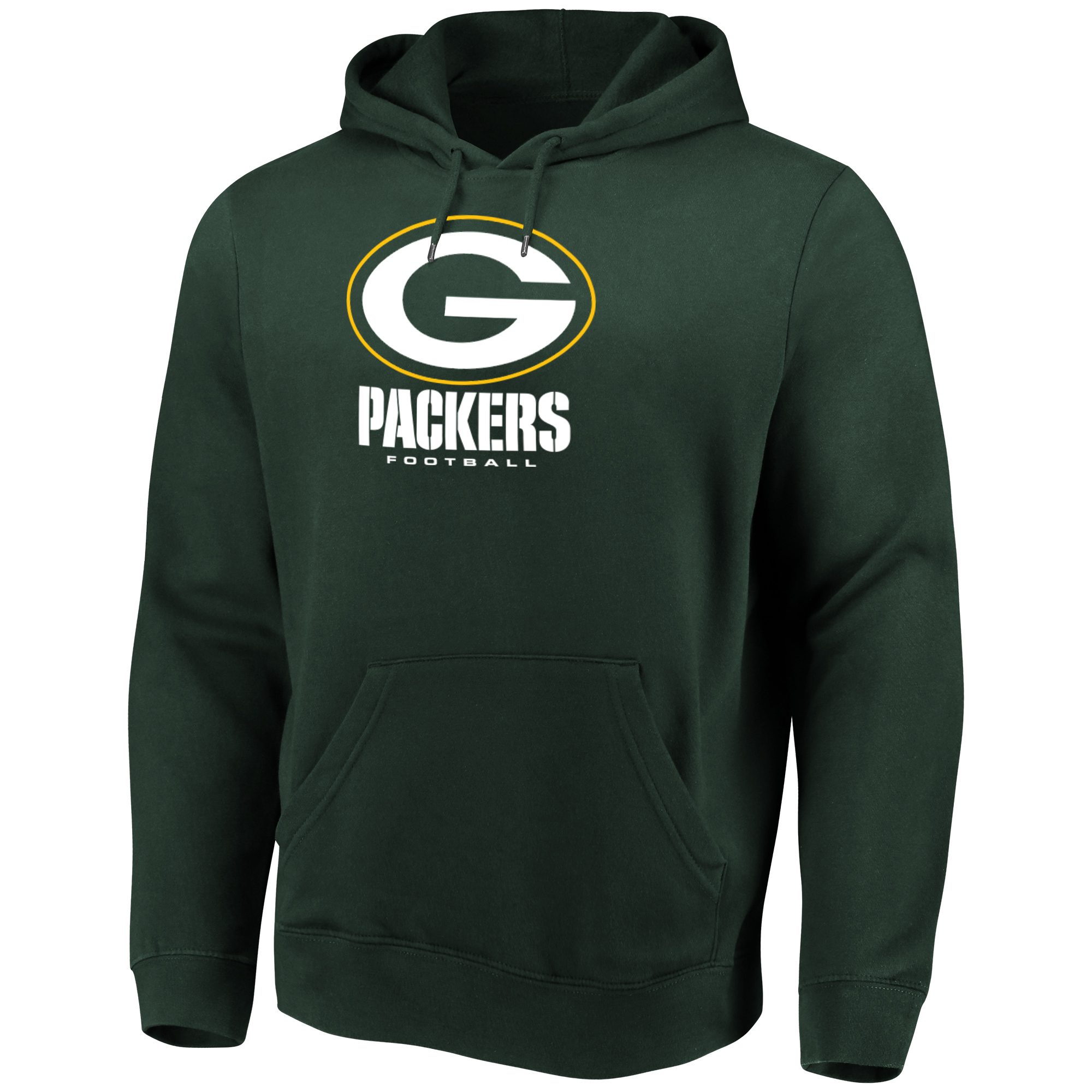 Men's Majestic Green Green Bay Packers Our Team Pullover Hoodie