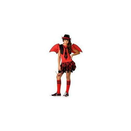 Devil Costume For Girl (Delinquent Devil Child)