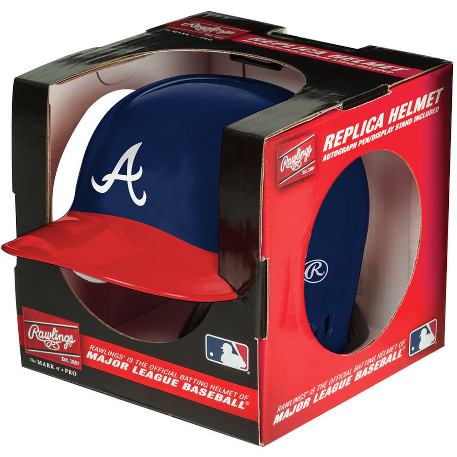 Rawlings MLB Mini Replica Helmet Atlanta Braves