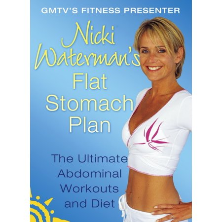 Nicki Waterman's Flat Stomach Plan: The Ultimate Abdominal Workouts and Diet -