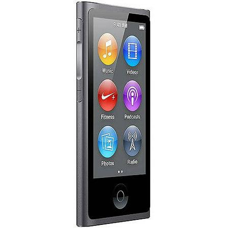 apple ipod nano 16gb refurbished space gray. Black Bedroom Furniture Sets. Home Design Ideas