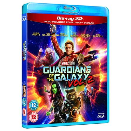 Guardians of the Galaxy Vol. 2 (2017) 3D Blu Ray Region