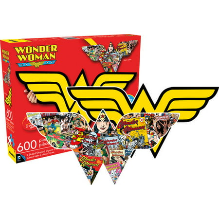 Wonder Woman Logo (2 Sided, Shaped Puzzle)](Halloween Logic Puzzle)