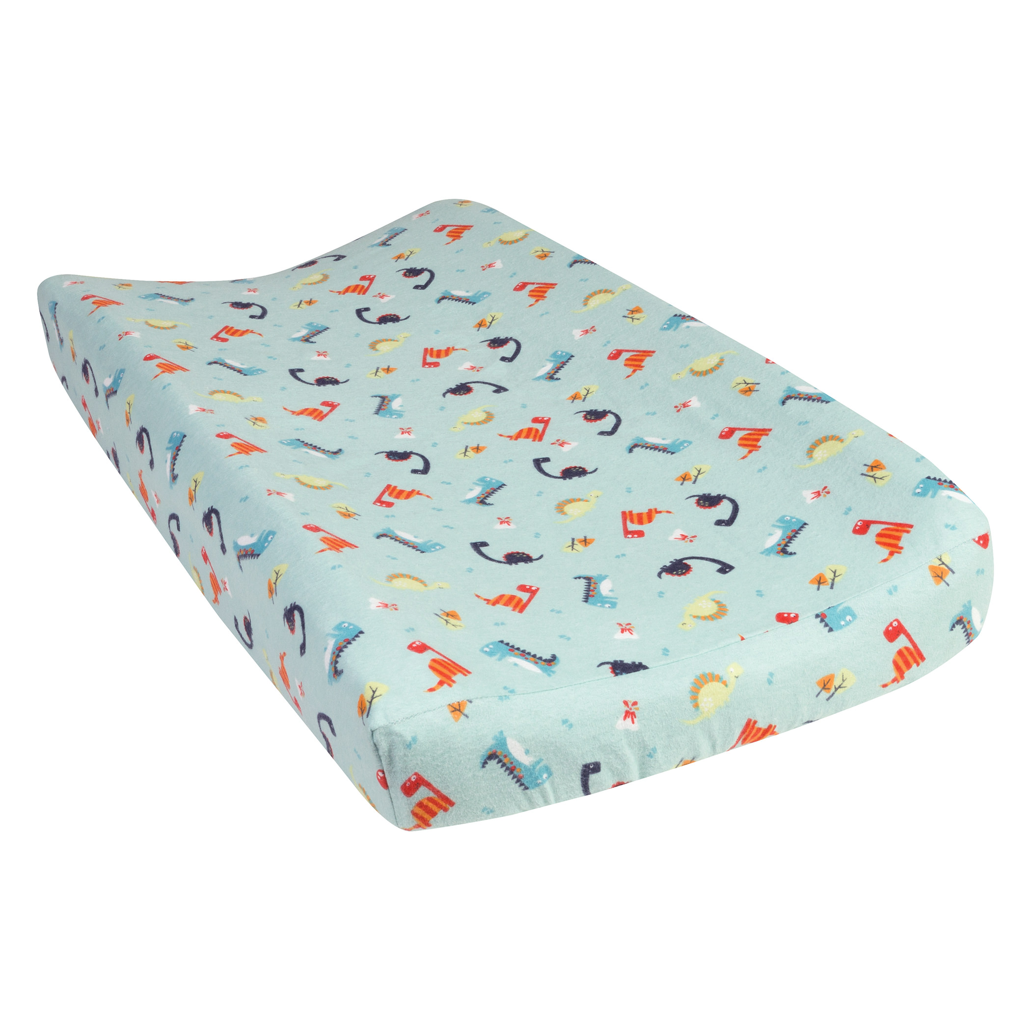 Dinosaurs Deluxe Flannel Changing Pad Cover Walmart Com