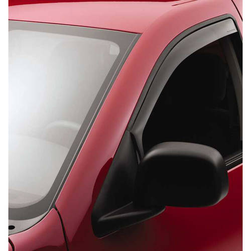 Weather Tech 70124 96-99 Taurus/96-05 Sable Sedan/Wagon Front Side Window Deflectors, Light Smoke
