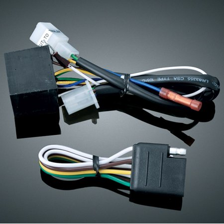 Kuryakyn 5 to 4-Wire Converter for Universal Trailer Wiring and Relay on stihl universal harness, universal fuel rail, universal ignition module, universal steering column, universal fuse box, universal air filter, universal miller by sperian harness, universal equipment harness, universal battery, universal radio harness, universal heater core, construction harness, lightweight safety harness,