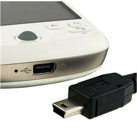 LIVEDITOR 6ft 1.8M Mini USB 2.0 M/M Cable w/Ferrite core Mini-USB 6 FT Mini B 5-Pin 1.83 M - image 3 of 5