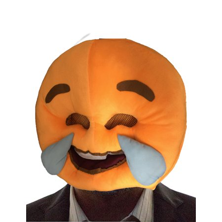 Mask for Party, Halloween, Event with this Emoji Smiley Face Mask. Want to put on a Happy Face, Crying Face for Haloween, Party, Event, Wedding, Birthday party. Product Size: 16.9 x 14.17 x 3