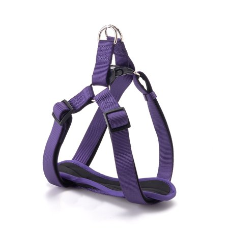Vibrant Life Comfort Step-In Dog Harness, Purple, Large