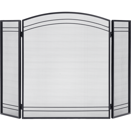 Fireplace Classic Screen Black (Fence Fireplace Screen)