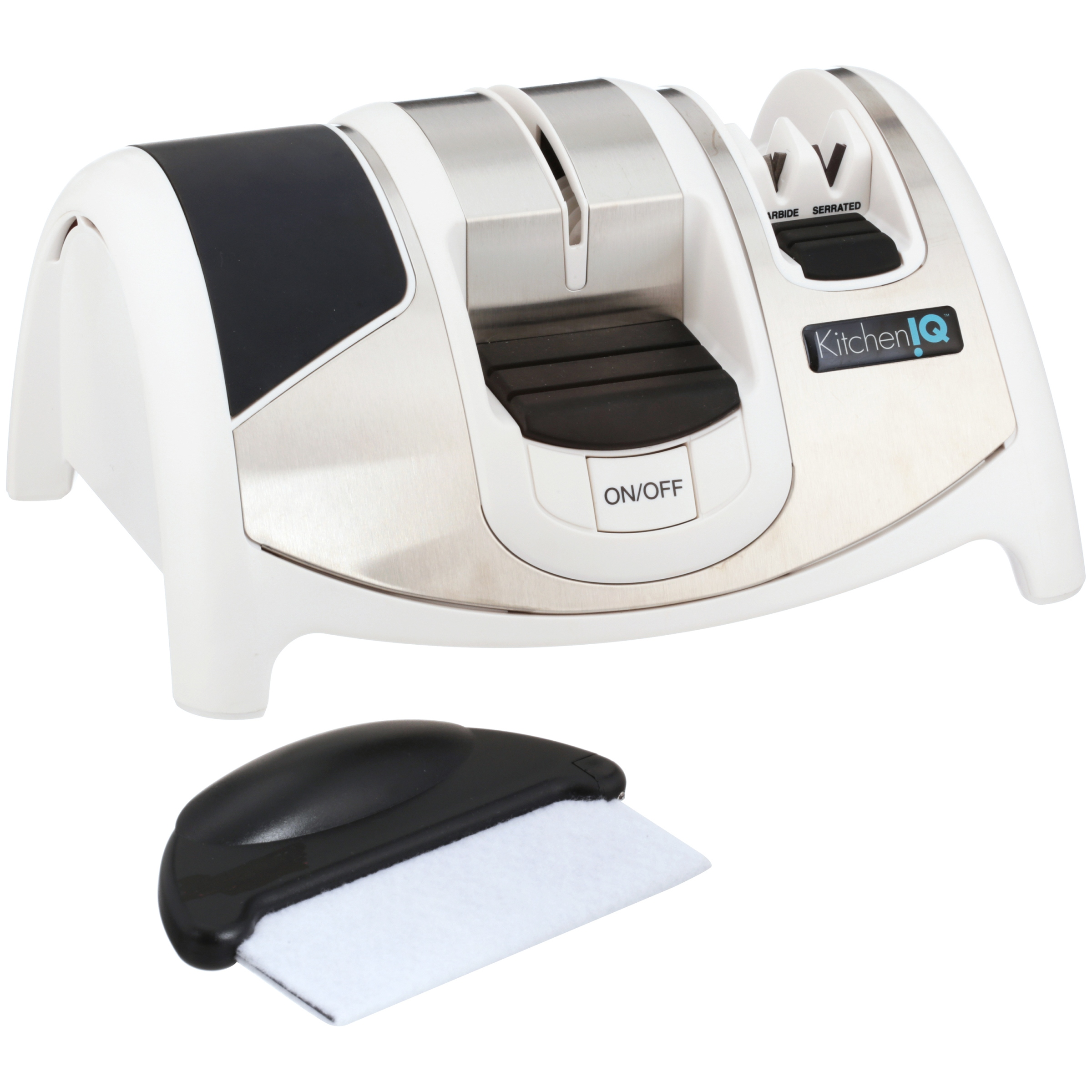 Kitchen IQ™ Ceramic Edge Gourmet™ Electric Knife Sharpener - Walmart.com