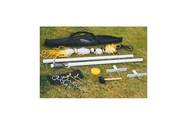 Power Volleyball Net, Adjustable Height, 32'W by Goal Sporting Goods