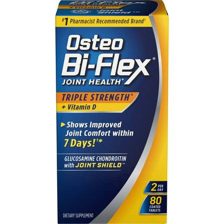 Osteo Bi-Flex® Triple Strength w/ Vitamin D, 80 Coated (Best Vitamin D Tablets)