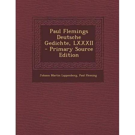 Paul Flemings Deutsche Gedichte Lxxxii