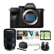 Sony Alpha a7R IV Mirrorless Digital Camera Body with 28-75mm f/2.8 Lens Bundle
