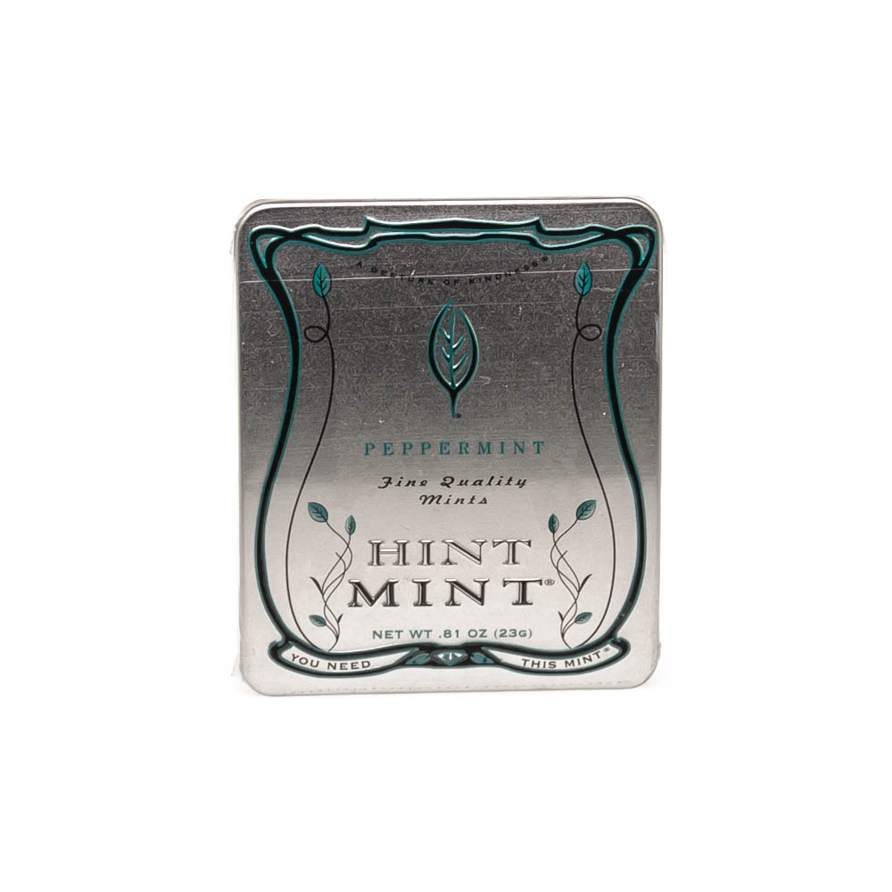 Hint Mint Gelatin Free Kosher Mints Peppermint 0.81oz (23g) (40Mints) by HINT MINT INC