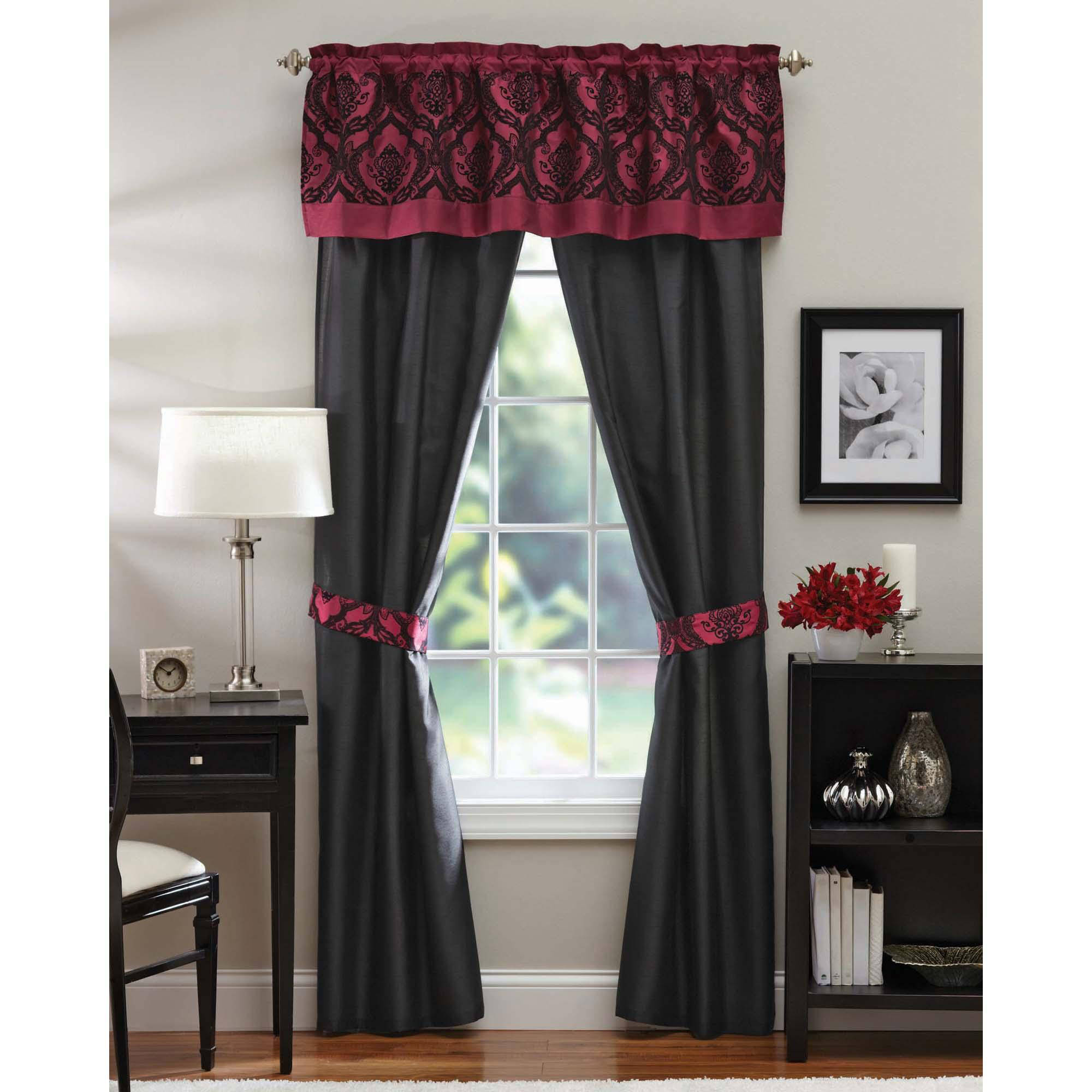 Better Homes And Gardens Sylvan Crest 5 Piece Curtain Panel Set    Walmart.com Part 64
