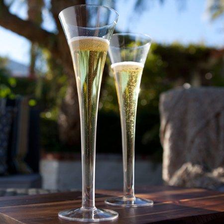 Ravenscroft Amplifier  Hollow Stem Champagne Flute - Set of - Stemmed Flutes