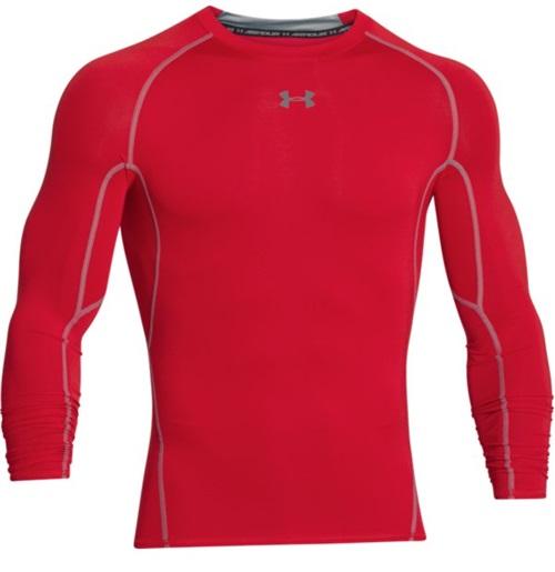 Under Armour Mens UA HeatGear Armour Long Sleeve Compression Shirt