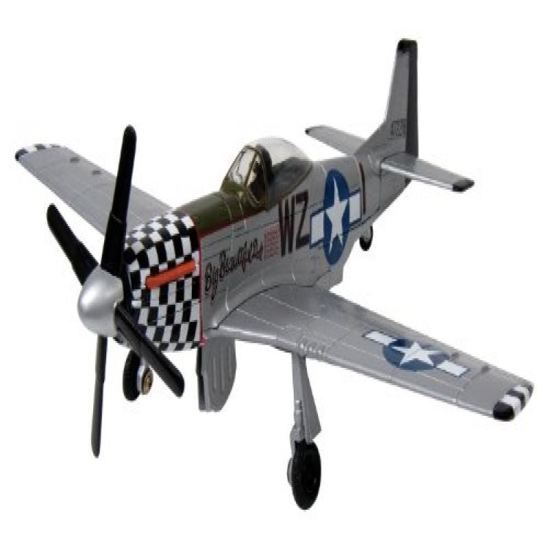 Motormax Replica WWII Diecast Fighter, P-51 MUSTANG