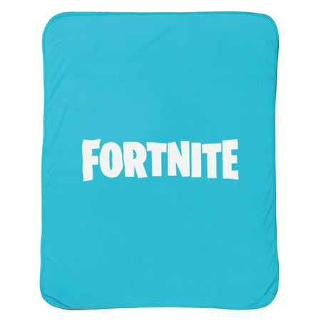 Fortnite Silky Soft Logo Throw