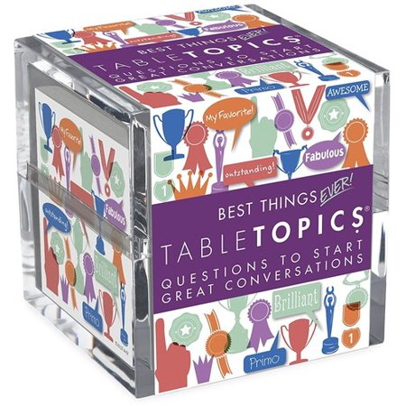 Table Topics: Best Things Ever Edition (Best Game Room Setup Ever)