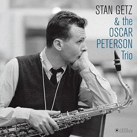 Stan Getz & The Oscar Peterson Trio (Cover Photo By Jean-PierreLeloir) (Vinyl) ()