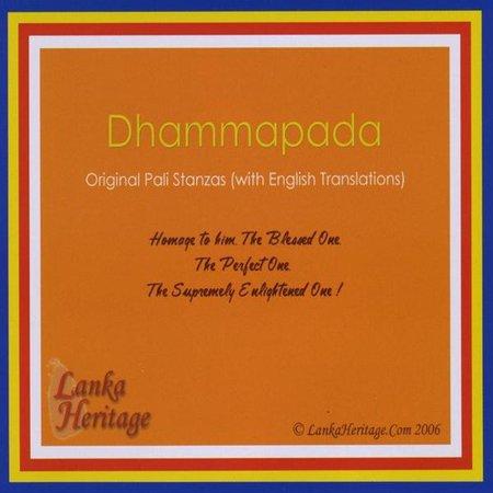 Sobitha  Beruwala Siri Rev    Gil Fronsdal   Dhammapada Original Pali Stanzas  With English Tra  Cd