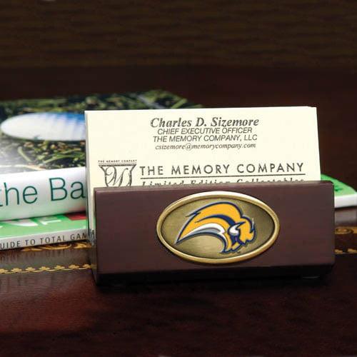 Buffalo Sabres Wooden Business Card Holder - No Size