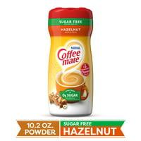 COFFEE MATE Sugar Free Hazelnut Powder Coffee Creamer 10.2 Oz. Canister