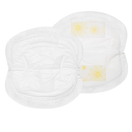 Contoured Disposable Breast Pads - Medela Disposable Bra Pads - 60 ct