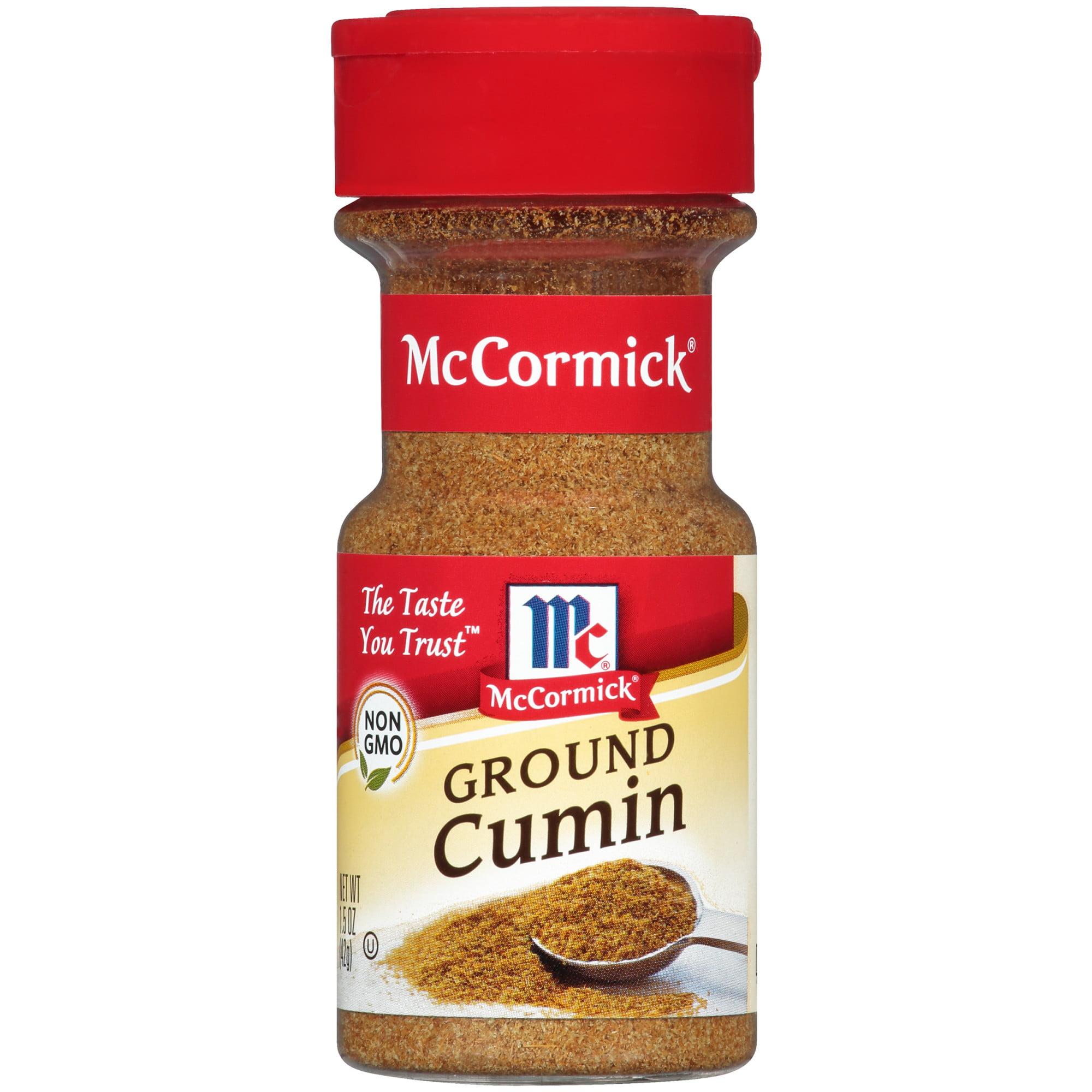 (2 Pack) McCormick Ground Cumin, 1.5 oz