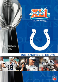 NFL Super Bowl XLI: Indianapolis Colts (DVD) by WARNER HOME VIDEO