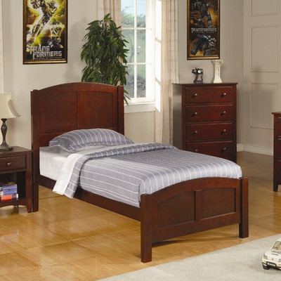 Bundle-84 Wildon Home   Perry Twin Panel Customizable Bedroom Set (5 Pieces)