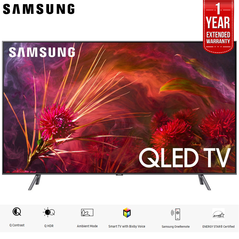"Samsung 65"" Q8FN QLED Smart 4K UHD TV 2018 Model (QN65Q8FNBFXZA) with 1 Year Extended Warranty by Samsung"