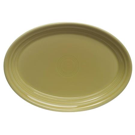 Fiesta 9-5/8-Inch Oval Platter, Sunflower (Fiesta Serving Platter)