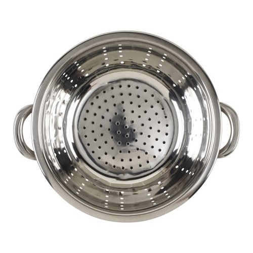 BRADSHAW INTERNATIONAL 12490 3Quart Stainless Steel Colander by Bradshaw International