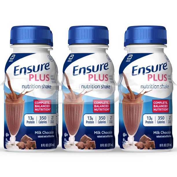 Ensure Plus Nutrition Shake With 13 Grams Of High Quality Protein