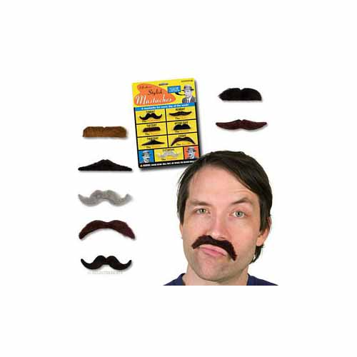 Stylish Mustaches by Accoutrements - 10484