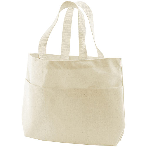 Canvas Corp Canvas Small Pocket Tote Bag