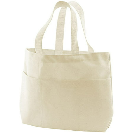 Canvas Corp Canvas Small Pocket Tote Bag for $<!---->