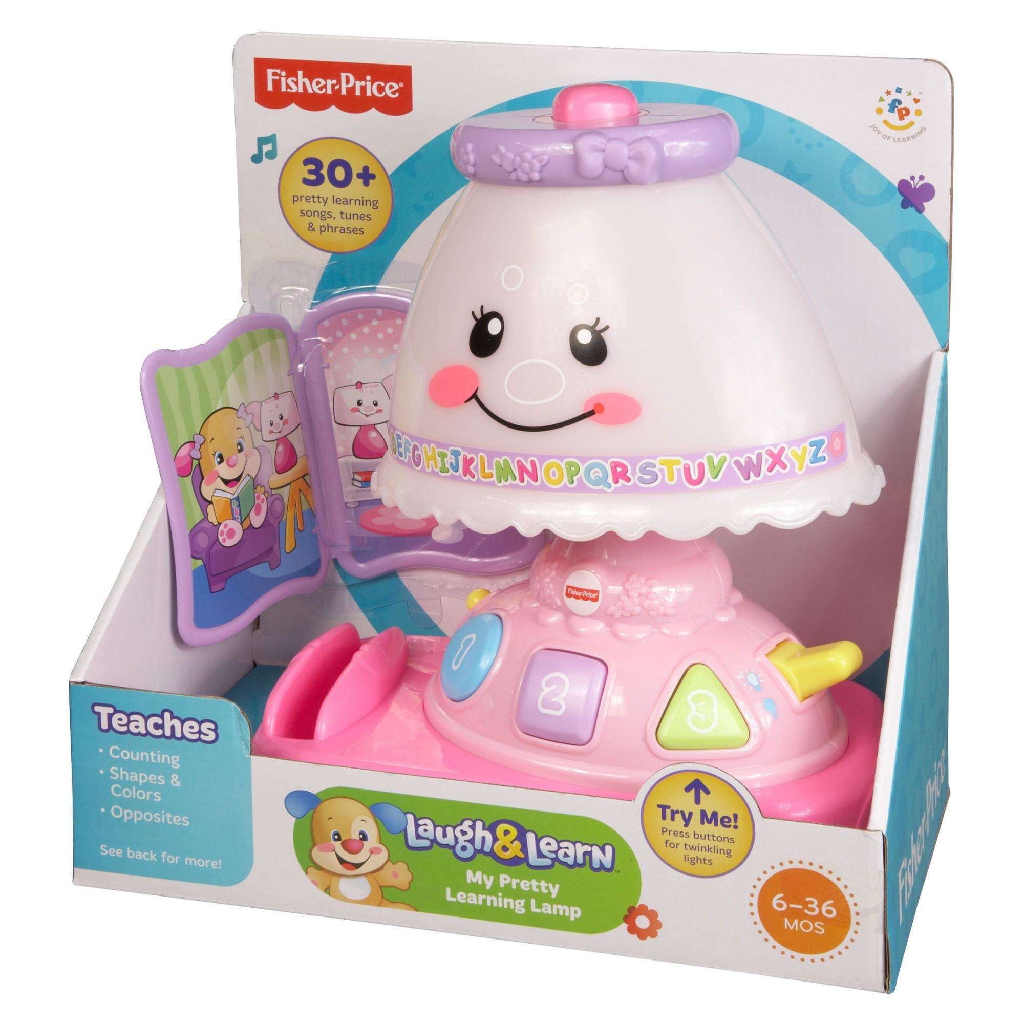 sc 1 st  Walmart & Fisher-Price Laugh u0026 Learn My Pretty Learning Lamp - Walmart.com