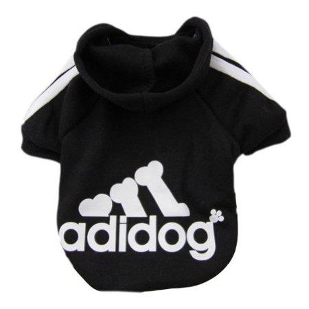 Zehui  Pet Dog Cat Sweater Puppy T Shirt Warm Hooded Coat Clothes Apparel ()