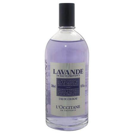 Lavender Eau de Cologne by LOccitane for Unisex - 10.1 oz EDC (Loccitane Cologne)