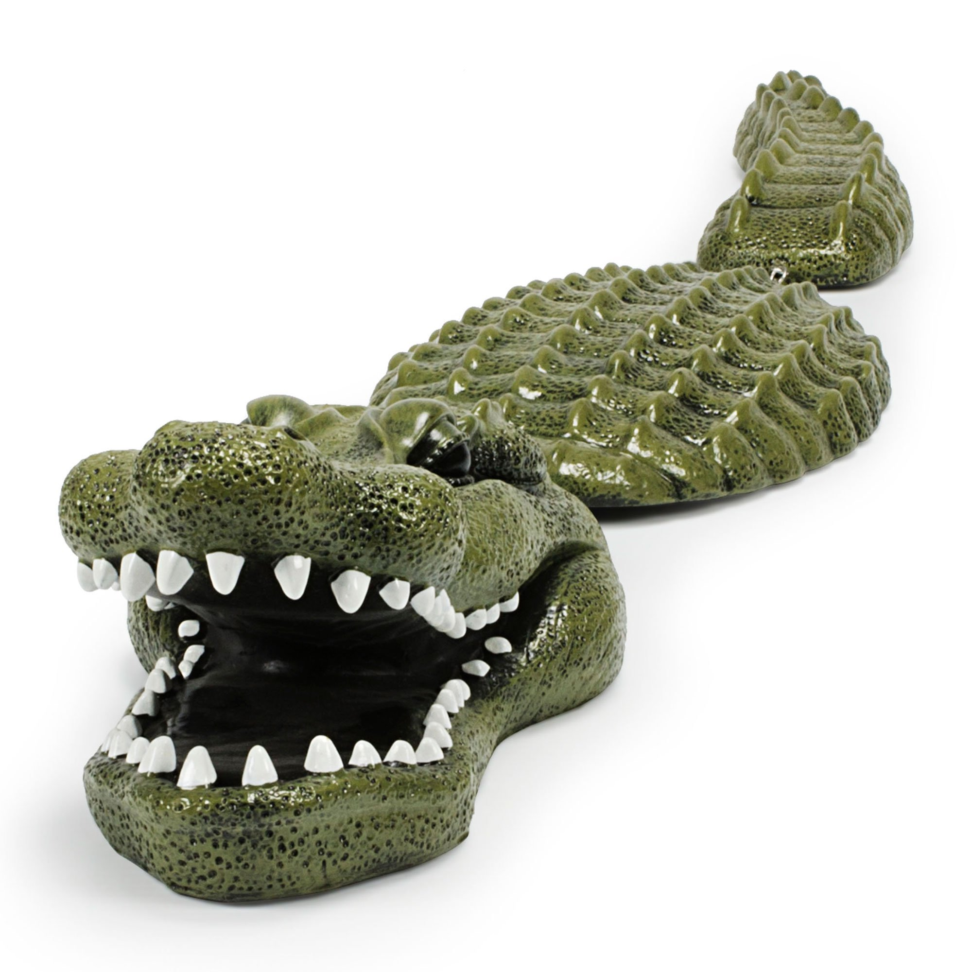 Aquascape Koi Fish Pond Floating Crocodile Alligator Predator Decoy (2 Pack) - image 2 de 6