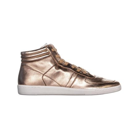 Dolce Vita Nate High Top Sneakers, Rose Gold Leather - image 2 de 6