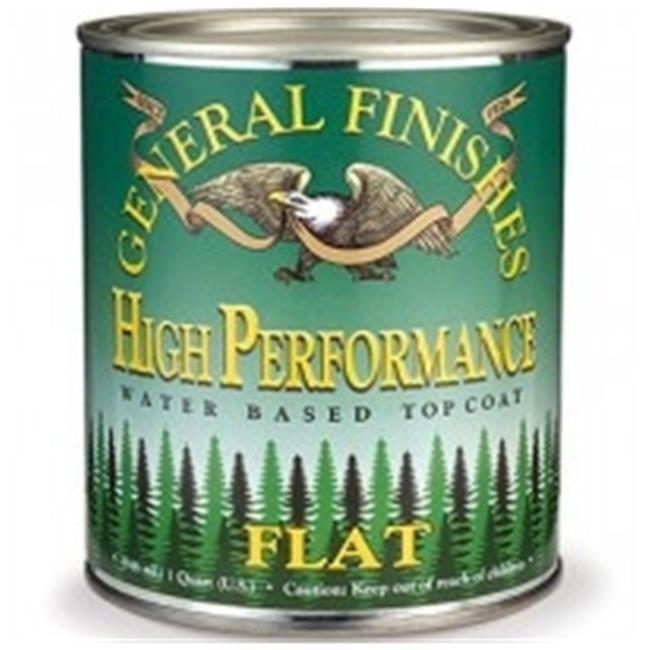 GFHF.1 General Finishes Water Based High Performance Polyurethane Top Coat, Flat - Gallon