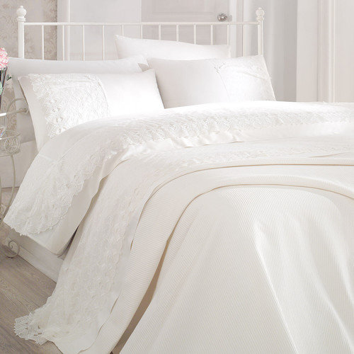 Debage Inc. City Sleep Temple 7 Piece Queen Duvet Cover Set